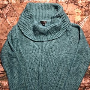 Green turquoise large women's sweater A.N.A.